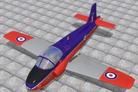 bac jet provost t5 3d model