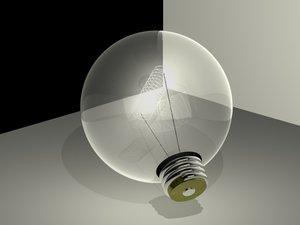 1a bulb 3d model
