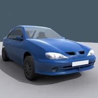 3ds max renault megane car