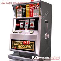 3d model slot machine