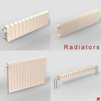 radiator heater 3d 3ds