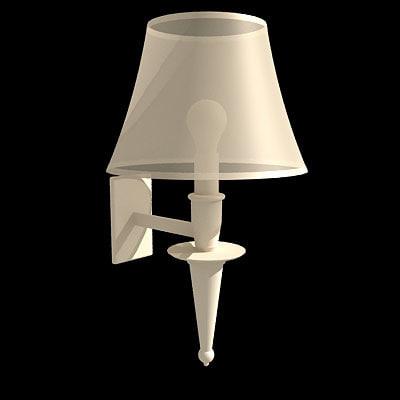 bedroom lamp 3d model