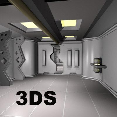 ufo props 3d model