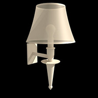 bedroom lamp 3d model