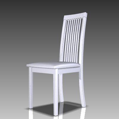 3d kitchen chair