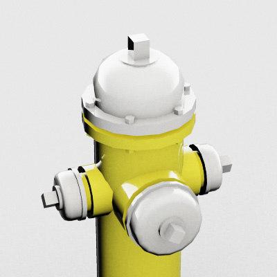 3ds max hydrant architectural