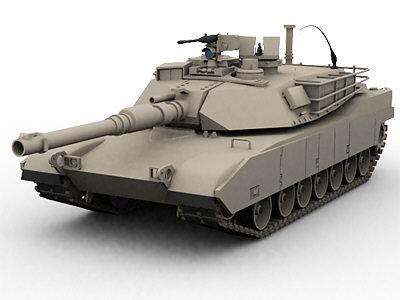 lightwave american abrams tank