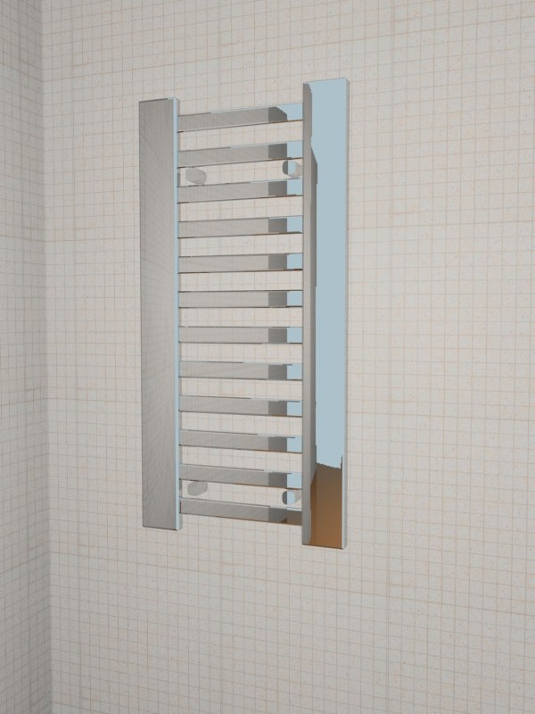 bathroom fixture 3d model