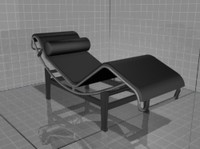 chaise longue tekno 3d model