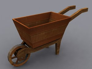 3d wheelbarrow wheel