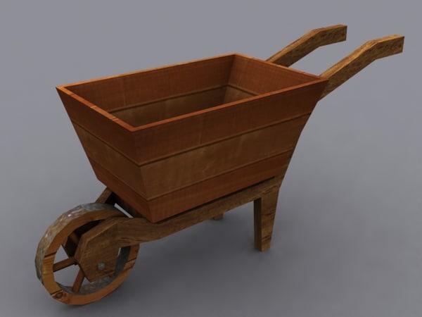 3d wheelbarrow wheel