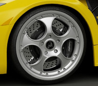 murcielago rims 3d model