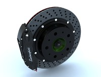 brake caliper 3d model