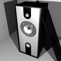 floor speaker 3d 3ds