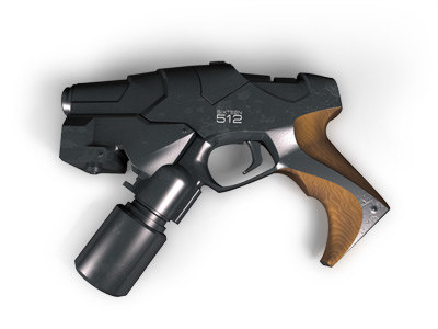 3d model of plasma gun