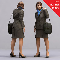 3ds max axyz human characters