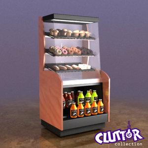 refrigeration clutterappliances clutter 3d lwo
