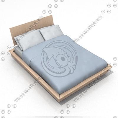 bed lwo