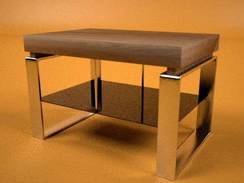 basic - landu table 3d max