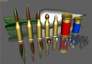 free model assorted guns
