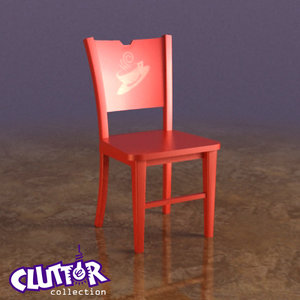 3d chair coffee clutterfurniture