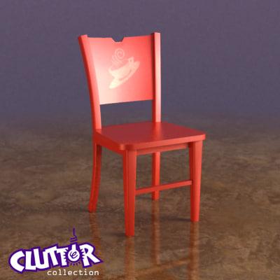 3d chair coffee clutterfurniture