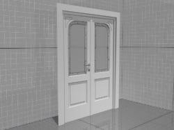 ma classic wooden door