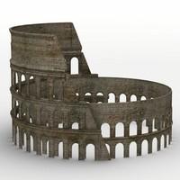 3d coloseum arena