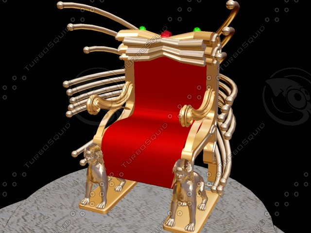 maya king throne