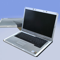 notebook laptop 3d model