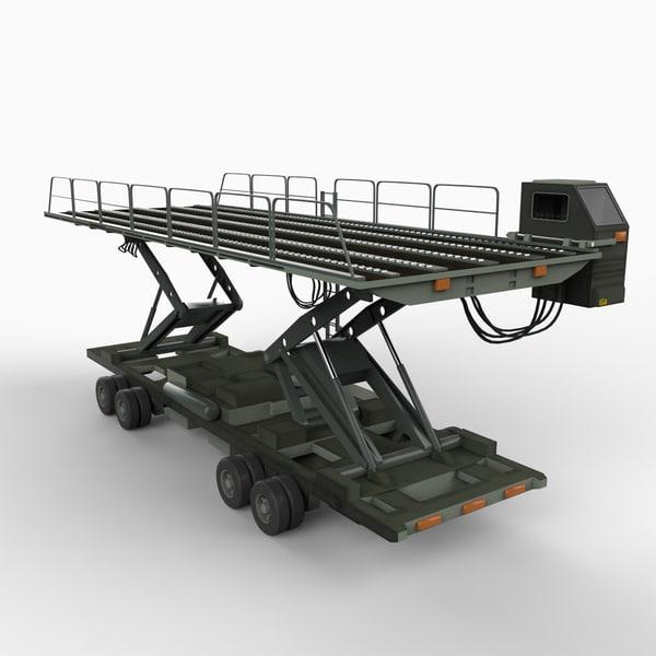 oshkosh 40k loader 3d max