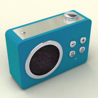 mini radio lexon 3d lwo