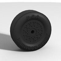 Pinewood Derby Wheel