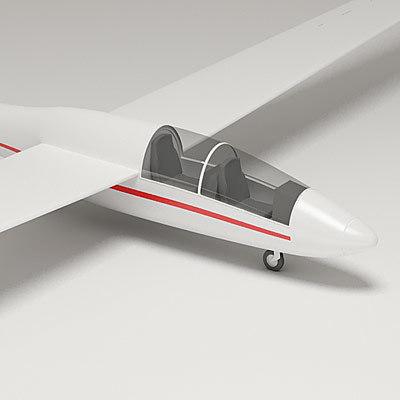 pw-6 9 glider 3d max