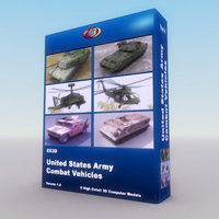 6 Vehicle USArmy 3DS