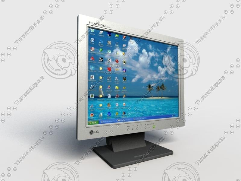 monitor lg flatron l1510s max