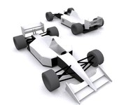 McLaren 1991 F1 car (low poly)
