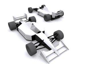 1991 formula car 3d model