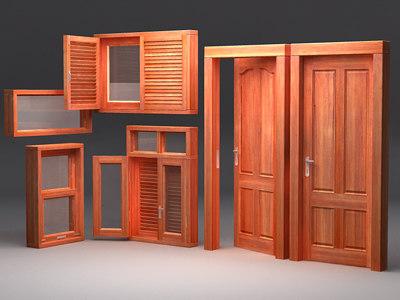 3d doors model