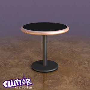 maya table clutterfurniture clutter