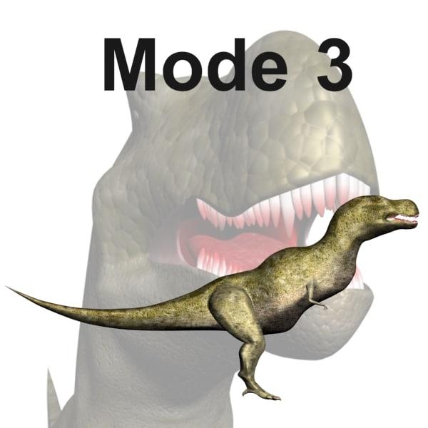 max tyrannosaurus mode 3