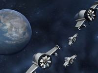 alien craft 3d model
