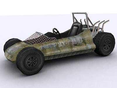 light buggy 3d max