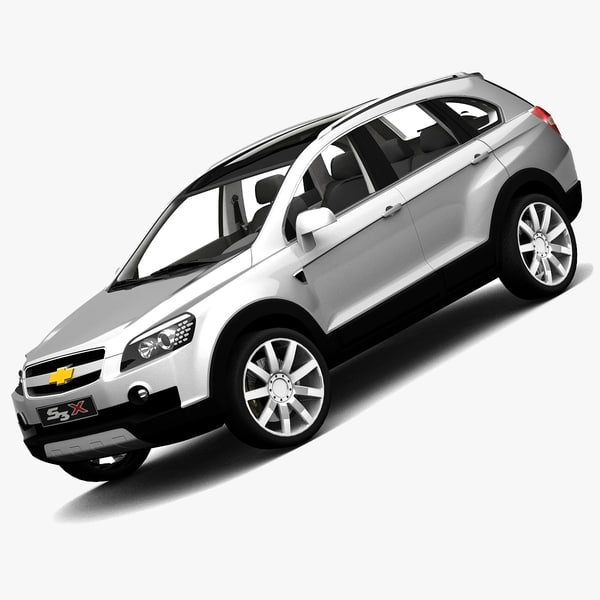 chevy captiva 2007 s3x 3d model