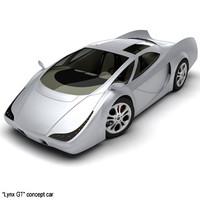 Lynx GT concept car