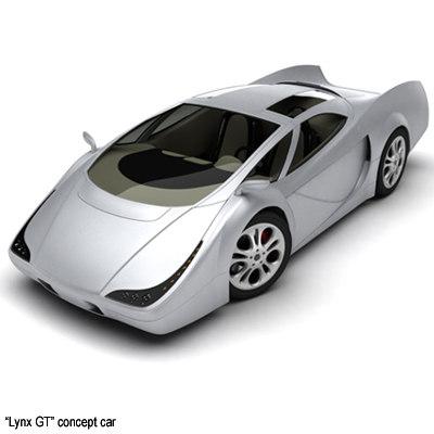 3d concept gt model