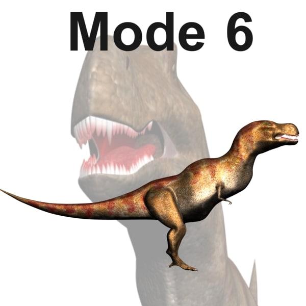 tyrannosaurus mode 6 3d model