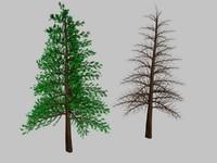 3ds max pine tree