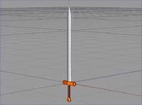 knight Sword.c4d