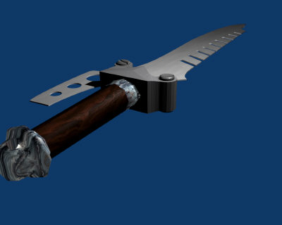 knife blade 3d model